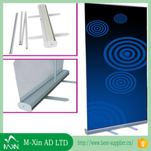 Aluminum portable advertising display& roll up banner stand for advertsing usage