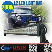 "Cheap hottest rigid light bar 50"" led light bar used emergency light bars for 4WD cars"