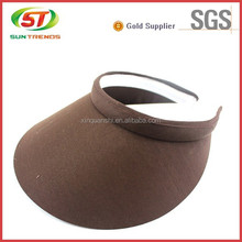 China custom colorful protection sun visor cap