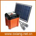 القرية الخضراء المحمولة مولدات الطاقة الشمسية للاستخدام المنزلي مع أضواء