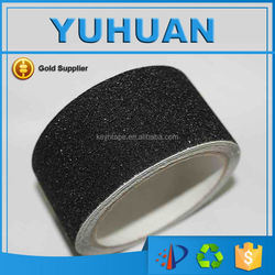 2015 Strong Adhesion Wholesale Black Waterproof Safety Walking Tape For Stairs