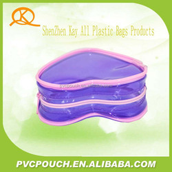 More kinds packing transparent PVC bone glure bag necessarie cosmetic bag