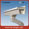 China Professional manufacturer PVC rain gutter Pvc Roofing Gutter And Downspout