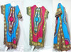 vintage retro thai style HIPPIE BOHO GYPSY ART kimono Kaftan butterfly dress zipper