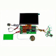 lcd movement for Video Greeting Card & MP4,Custom Design Function