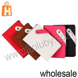 Notebook Style Tablet Cover Flip Leather Case for Retina iPad Mini with Card Slots (5 Colors Optional)