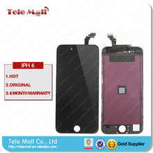 2015 Free ship to order accept paypal !! factory price for iPhone 6 plus lcd with digitizer replacement