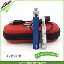 2014 Ocitytimes 7 Color Dual Coils EGO CE5 STARTER KIT Ego Vapor E-CIGARETTE
