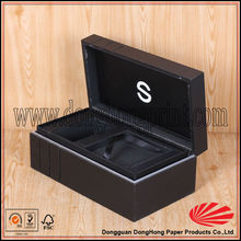 Best quality easy open branded watch packaging wood box