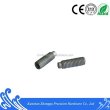 Inner Hexagonal Cylindrical Side Set Screw DIN915 Carbon Steel Dacromet