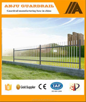 Non-welded galvanized steel tube fence insert with cheap price DK008