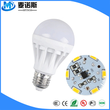Energy Saving Cheap Cob LED Bulb E27 B22 3W 5W 7W 220V Plastic Led Bulb Lamp for Home and Office Buy in China