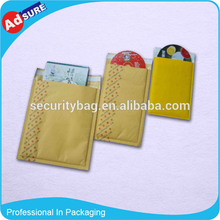 Hot selling gold envelopes durable plastic bags with low price