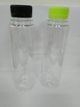 new arrival 300ML pet plastic round juice bottle