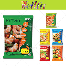 Frozen Plastic Bags for Frozen Shrimp Packaging with Back Seal and Custom Printing