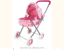Iron Material Doll Stroller Toy/baby carriage/baby trolley for Kids,doll stroller