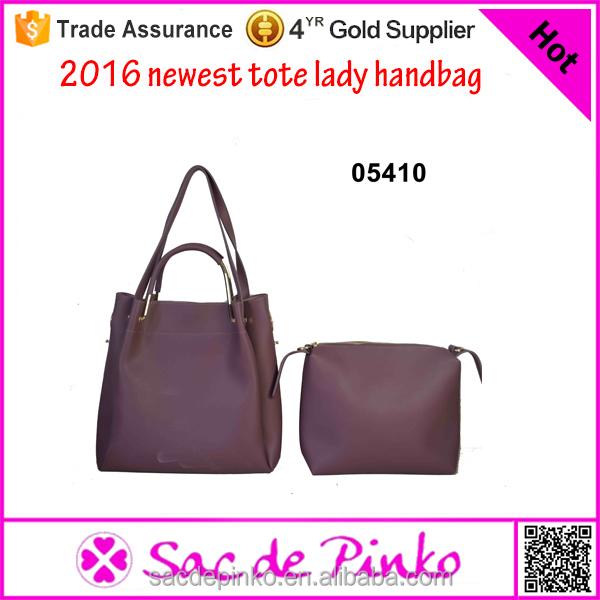2016 vermelho arroxeado sacos das senhoras sacos bolsa das senhoras simples made in China fabricante