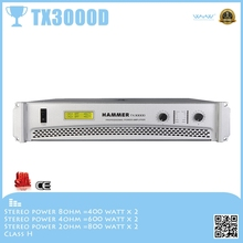 TX3000D subwoofer amplifier for home