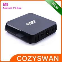 2015 hottest m8 Kodi 15.0 android tv box quad core
