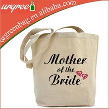 Recycled Custom Women Canvas Tote Bag Webbing Bag