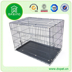 wire folding pet crate dog cage DXW003