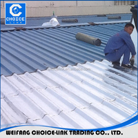 1mm 1.5mm self adhesive bitumen waterproof membranes/ flashing band/ for roof waterproof