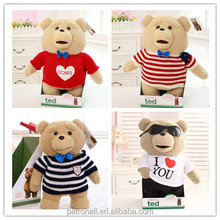Best Selling Teddy Bear Plush Toys with Different Size gummy bear