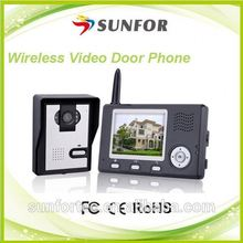 fashion woman accessories new product 2014 wireless digital door peephole camera with lcd screen