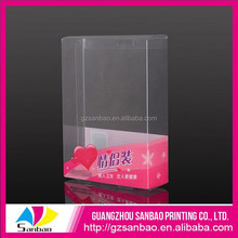 Factory Price Custom Recyclable Foldable Plastic Clear Birthday Candle Packaging Boxes with Window
