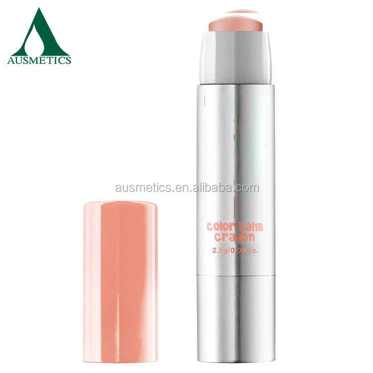 Оптовая продажа Рекламные специальный водонепроницаемый натурального органического увлажняющий бальзам для губ
