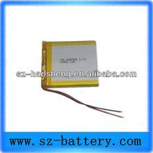 3.7v rechargeable polymer li ion battery gps