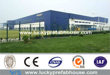 low price light steel structure warehouse