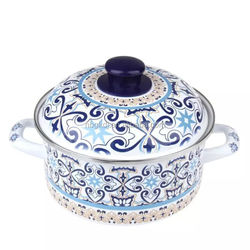 2015 high quality porcelain healthy enamel cast iron cookware
