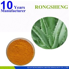 High quality aloe-emodin aloe leaves plant extract