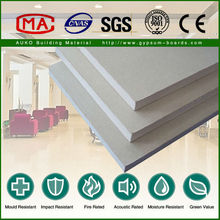 9.5mm High Strength Gipsum Board for Construction Material