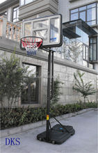 PC Removable Adjustable Plastic Basketball Stand Outdoor
