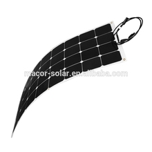 100W Sunpower flexible solar panels, high efficiency flexible solar modules