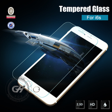 New design anti broken and oil 0.3mm 99% transparent rate tempered glass screen protector for iphone 6s