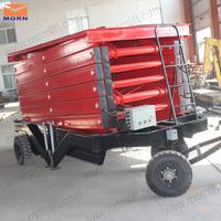8m mobile manual lifting jacks