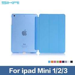 Case For Apple iPad 1 2 3 PU Leather Smart Stand Flip Case Cover 360 Rotating Protector Film