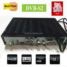 New Arrival dvb-s2 hd digital satellite tv receiver in factory