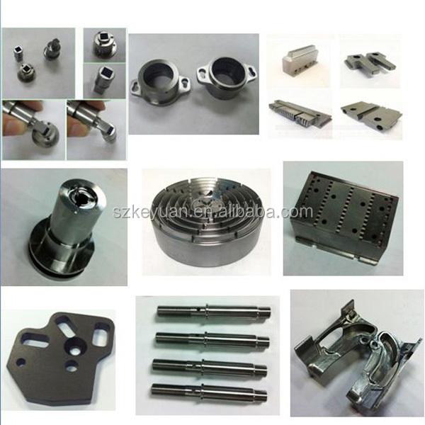sur mesure de haute qualité usiné cnc en aluminium anodisé cas de téléphone