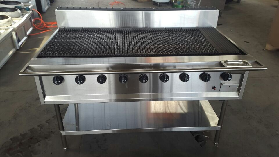 Top quality stainless steel commercial indoor gas and charcoal grill supplier buy commercial - Charcoal grill restaurant ...