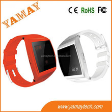 built in 0.3MP rear camera gsm sim card smart watch china online selling BT sync wrist watch