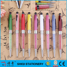 2015 diamond china wholesale promotional pen with logo print metal pen