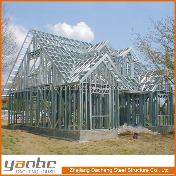 Steel Homes Pre Factory Fabricated Construction Pre