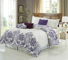 2015 100% polyester wholesale cheap prices bright color comforter sets for north american