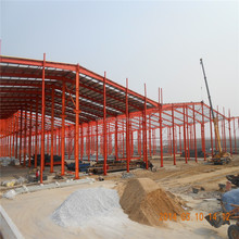 steel structure fabrication prefab steel farm warehouse light steel portal frame