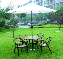 Garden sets wood table and chair courtyard furniture C601+T802