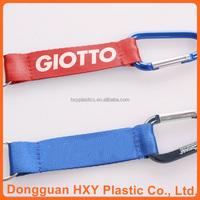 HXY 2015 Newest Imprinted Customerized Logo lanyard neck strap key chain